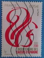 France 2018  : Bicentenaire Des Caisses D'Epargne N° 5207 Oblitéré - Oblitérés