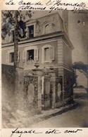VILLENNES-SUR-SEINE LA CASE DE L'HIRONDELLE FACADE COTE COUR (CARTE PHOTO ) - Villennes-sur-Seine