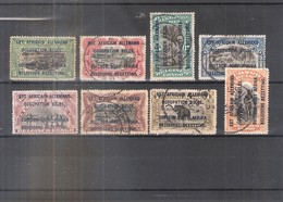 Ruanda-Urundi 28/35 - Type A - Série Complète - Obl/gest/used - 1916-22: Oblitérés