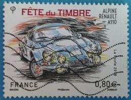 France 2018  : Fête Du Timbre. Voitures Anciennes N° 5204 Oblitéré - Oblitérés