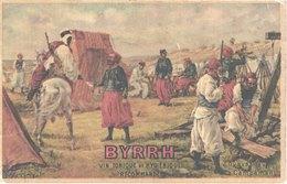 FR66 BYRRH - Vin Tonique Et Hygiénique - Zouaves Au Campement - Guerre 1914-18