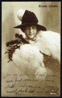FEMME - CP - Jeune Femme Avec Chapeau - Circulé Sous Enveloppe - Circulated Under Cover - Gelaufen U. Umschlag - 1918. - Femmes