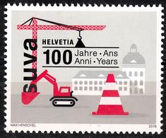 SWITZERLAND 2018, 100 Years SUVA, SWISS INSURANCE INSTITUTION In ACCIDENT, COMPLETE, MNH SET In GOOD QUALITY, *** - Switzerland