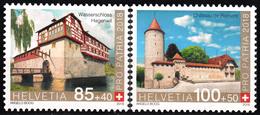 SWITZERLAND 2018, PRO PATRIA, SWISS CASTLES, COMPLETE, MNH SET In GOOD QUALITY, *** - Switzerland