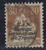 Switzerland 1923 Dienstmarken BIT/ILO 30c Used Ca Geneve (42729) - Dienstzegels