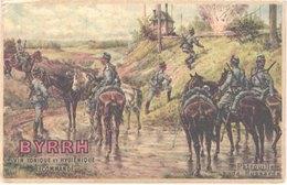 FR66 BYRRH - Vin Tonique Et Hygiénique - Patrouille De Hussards - Guerre 1914-18