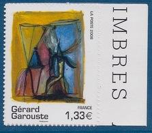 FRANCE - ADHESIF 222 - 4244A GAROUSTE NEUF** BORD DE FEUILLE LUXE COTE 140 EUR - France