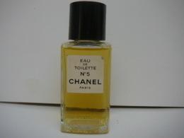 """CHANEL """" N° 5""""  FLACON ( PAS VAPO) VENDU VIDE IMPECCABLE  LIRE ET VOIR!! - Parfumminiaturen"""