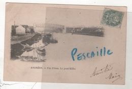 78 YVELINES CP ANDRESY - FIN D'OISE - LE PONT EIFFEL - ARMANASCHI A ANDRESY - CIRCULEE - Andresy