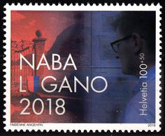SWITZERLAND 2018, NATIONAL PHILATELIC EXHIBITION NABA In LUGANO, COMPLETE, MNH SET In GOOD QUALITY, *** - Zwitserland