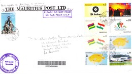 ILE MAURICE (MAURITIUS) Enveloppe En Provenance THE MAURITIUS POST LTD - PHILATELIC BUREAU Du 21.12.2018 - RARE - Mauritius (1968-...)