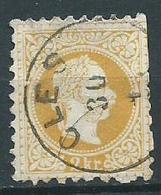 Timbre Autriche 1867 2 K Jaune Obliteration Cles - 1850-1918 Empire