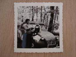 PHOTO VOITURE 2CV CITROEN 1962 - Auto's