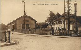 ~  BS  ~  88  ~  THAON  LES  VOSGES   ~   La Gare   ~ - Sonstige Gemeinden