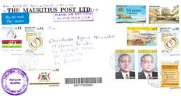 ILE MAURICE (MAURITIUS) Enveloppe En Provenance THE MAURITIUS POST LTD - PHILATELIC BUREAU Du 14.07.2018 - RARE - Maurice (1968-...)