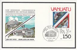 1990 Vanuatu London 90 Stamps On Stamps  Souvenir Sheet  MNH - Vanuatu (1980-...)