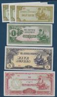Japon - Occupation Indonésie - 6 Billets - Japon