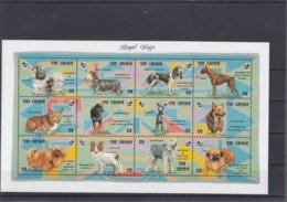 Gambia Michel Cat.No. Mnh/** Sheet 1667/1676 + Sheet 198/199 Dogs - Gambia (1965-...)