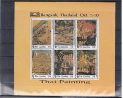 Gambia Michel Cat.No. Mnh/** Sheet 1735/1746 Bangkok - Gambia