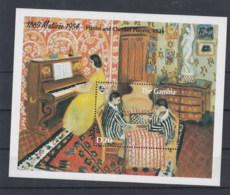 Gambia Michel Cat.No. Mnh/** Sheet 216 Matisse - Gambia
