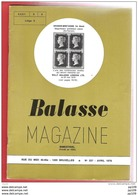 BALASSE MAGAZINE Bimestriel  N°237 - Avril 1978 - Magazines