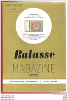 BALASSE MAGAZINE Bimestriel  N°238 - Juin 1978 - Magazines