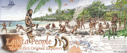 2005 Vanuatu Lapita People Ancient Maps Explorers  Souvenir Sheet  MNH - Vanuatu (1980-...)