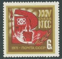 1971 RUSSIA CONGRESSO PARTITO COMUNISTA MNH ** - UR19-2 - 1923-1991 USSR