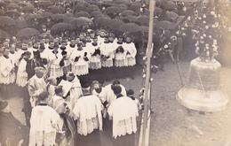 CPA 14 @ Carte Photo LISIEUX - Bénédiction De La Basilique Sainte Thérèse De L'Enfant Jésus En Mai 1931 - Cloche - Lisieux