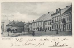 AK - PRIMISLAU (Pribyslav) - Strassenpartie Im Ortskern 1905 - Tschechische Republik