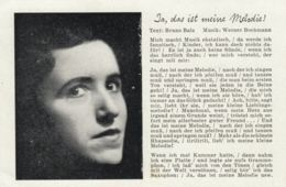 AK - Ja, Das Ist Meine Melodie !  1942 Feldpost - Musik Und Musikanten