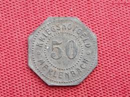FRANCE Monnaie De Merlebach 50 Pfennig 1917 - Monetari / Di Necessità