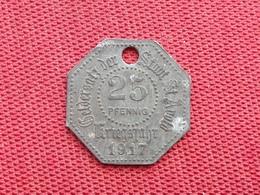 FRANCE Monnaie De Saint Avold 50 Pfennig 1917 - Monetari / Di Necessità