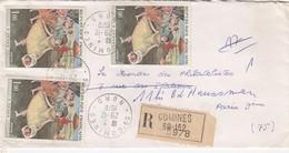 LETTRE RECOMMANDÉ  COMINES   /  2 - 1961-....