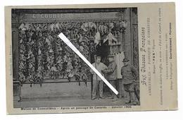Cpa 8020089 Maison De Comestibles Après Un Passage De Canards Janvier 1906, Péronne Courtellemont Aux Chasses Françaises - Peronne