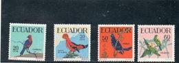EQUATEUR 1958-9 ** - Equateur