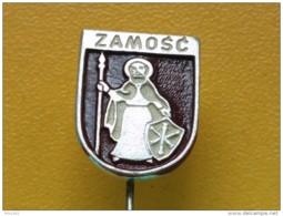 List 103 - ZAMOSC, POLAND, Blason, Ecusson, Embleme, Coat Of Arms, - Ciudades
