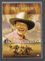 Comancheros Dvd  John Wayne - Western / Cowboy