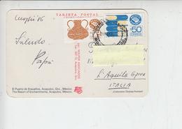 MESSICO  1986 - Cartolina Per Italia - Esportazioni - Messico