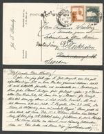 PALESTINE. 1928 (27 Sept) Jerusalem - Sweden, Stockholm. Fkd Private Card, Cds. Rate + Mission Mail. - Palestine
