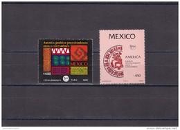 Mexico Nº 1301 Al 1302 - México