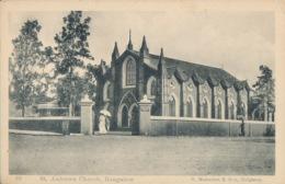 R015228 St. Andrews Church. Bangalore. S. Mahadeo. No 69. B. Hopkins - Postcards