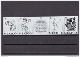 Mexico Nº 1865 Al 1868 - México