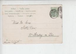 GRAN BRETAGNA  1905 - Unificato 106 - Edoardo VII - Storia Postale