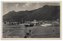 1932 YUGOSLAVIA, SLOVENIA, KOCEVJE-GOTTSCHEE, TPO 74 KOCEVJE-LJUBLJANA - Yougoslavie