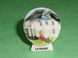 Fèves / Pays / Région : La Mairie , Le Fournil Vouneuillois ( Petit éclat Au Pied )   T10 - Pays