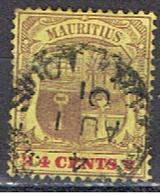MAURITIUS 67 // YVERT 101 // 1900-02 - Mauritius (...-1967)