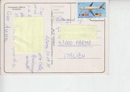 GERMANIA  1988 - Unificato 1199 - Europa - Aereo - Bandiere - [7] Repubblica Federale