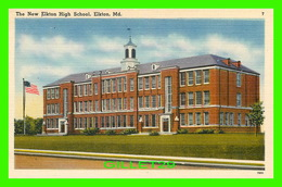 ELKTON, MD - THE NEW ELKTON SCHOOL - DEL MAR NEWS AGENCY - - Etats-Unis