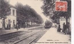 Cpa HAROL LA GARE 1913 - Other Municipalities